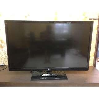香榭二手家具*樂金LG 55吋 LED液晶彩色電視-型號:55LV5500-DD -液晶電視-中古電視-二手電視-回收