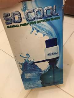 Manual Pump Water
