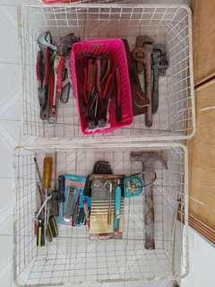 Tools - Pliers, hammer, screwdriver and more
