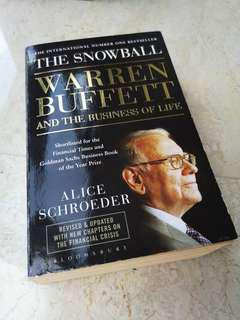 The Snowball Warren Buffet and the Business of Life book by Alice Schroeder