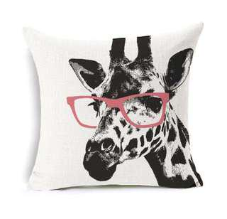 Pillowcase - Eight. You're giraffing me crazy.