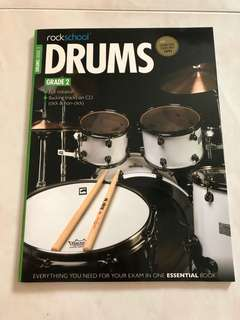 Rockschool Drum Grade 2 book (with CD)