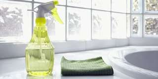 Home cleaning service at Hougang