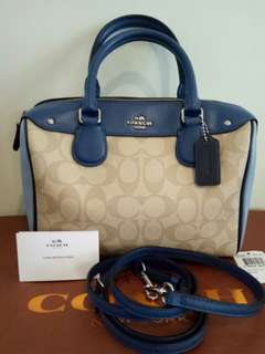 Coach F55446 Mini Bennett Satchel