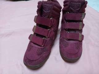 skch high cut sneakers