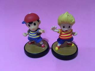 Nintendo Switch Amiibo Ness Lucas