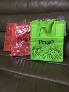 PREGO WOVEN BAG AND COOLER BAG