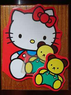 Hello Kitty 貓 筆記本 簿 正貨 絕版