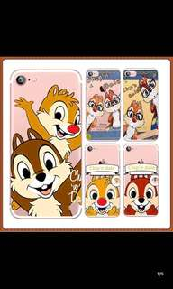 Chip n Dale 手機殼iPhone s5/6/6s/7/7s/8plus 📮包郵