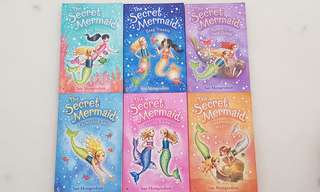 Usborne books: The Secret Mermaid (book 1-6)