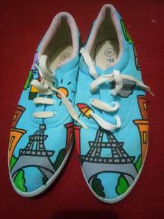 Sepatu Lukis Flex