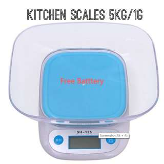 🚚 kitchen Scale 5kg/1g