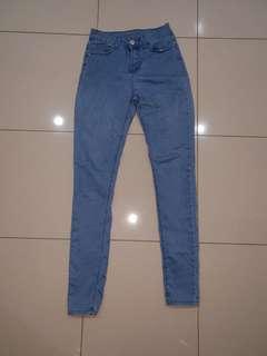 MAXIM light denim high waisted Jean's