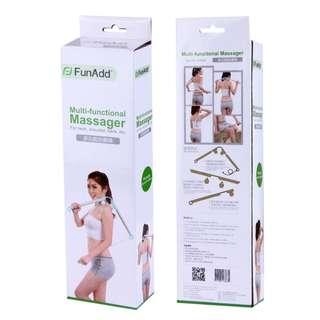🚚 Roller Ball Massage Stick Multi-Functional Full Body Neck Shoulder Waist Back Leg