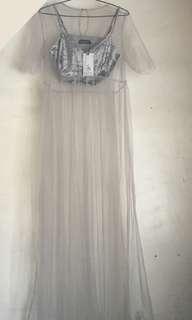 2-in-1 Mesh Dress w/ Bralette