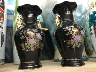 Chinese base porcelain 250 for a pair