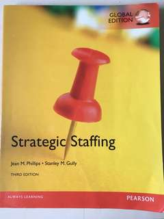 Strategic staffing - Third edition