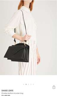 Danse Lente Phoebe Leather shoulder bag