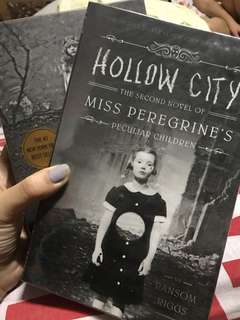 SIGNED COPY Miss Peregrine's Home For Peculiar Children Series