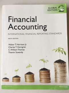 Financial Accounting - international financial reporting standards - ninth edition