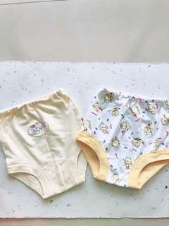 2 pcs yellow daily wear short pants