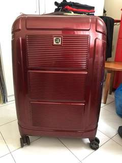 Samsonite inspired super large expandable luggage bag