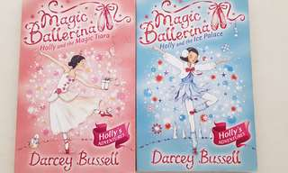 2 magic ballerina books