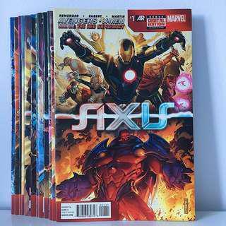 Avengers & X-Men: Axis Comics Set