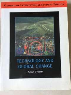 Technology and global change - Cambridge International Student Edition
