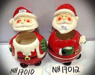 Santa Claus candy jars