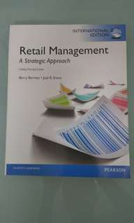 Retail Management - A Strategic Approach 12th Edition