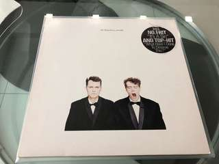 Pet Shop Boys Actually 1st German DMM pressing Lp Record