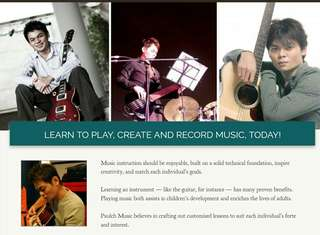 Electric Guitar Lessons (up to Advanced Level)