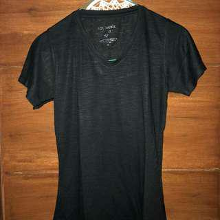 Basic T-shirt black pink