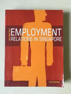 Employment Relations in Singapore - Fifth Edition
