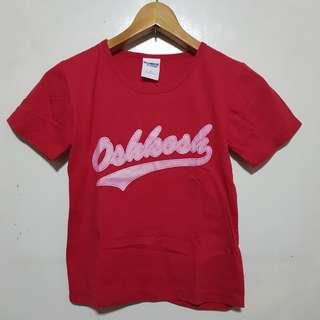 Oshkosh Red Shirt