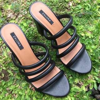 Zalora black shoes size 37 (23,5cm)