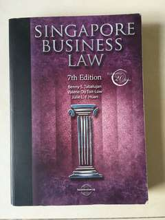 Singapore Business Law - 7th Edition
