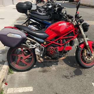 Ducati Monster 900 COE till feb 2023 (NEW rebate ava)
