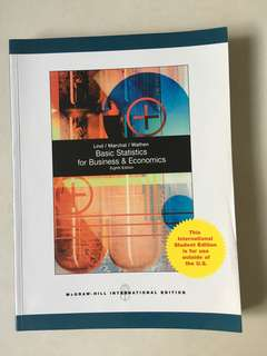 Basic statistics for Business & Economics - Eighth Edition