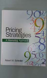 Pricing Strategies - A Marketing Approach