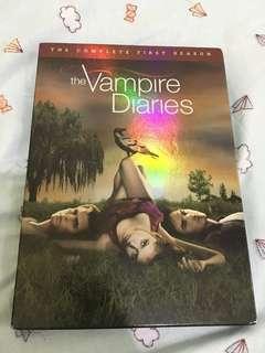 The Vampire Diaries Complete First Season Original DVD