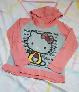 Hello Kitty sweater with hood