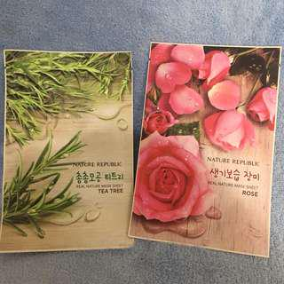 TAKE ALL INNISFREE REAL NATURE SHEET MASK