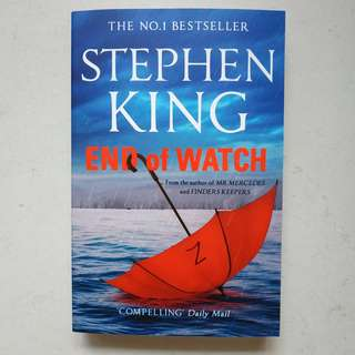 🚚 End of Watch by Stephen King (New, unread)