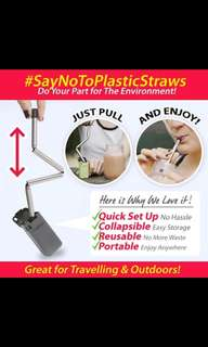 Collapsible Steel Straw / Steel straw