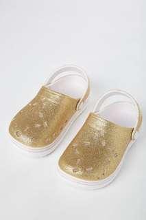 Cotton on Gold Hippo Clog - Girl's Sandal