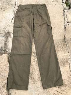 Army pant cutting smart straight cut
