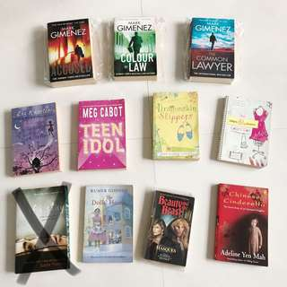 Young adults book tittles