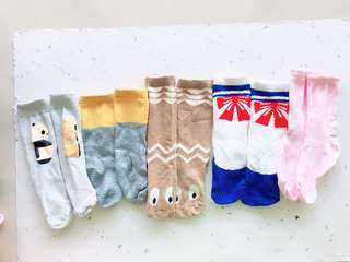 5 pcs kaos kaki set